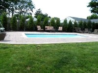 Wylela Fiberglass Pool in Fort Monroe, VA