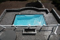 Wylela Fiberglass Pool in Bena, VA